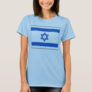 Israel Flag x Map T-Shirt