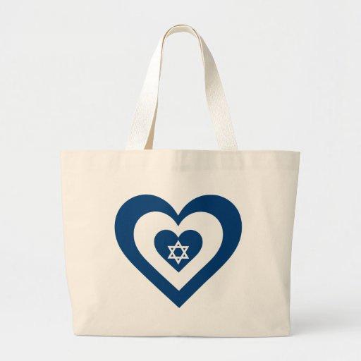 Israel Heart Bag