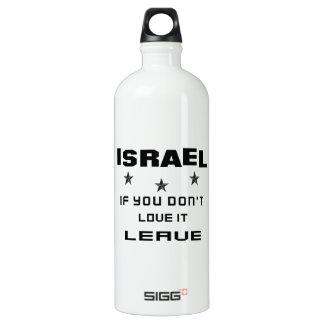Israel If you don't love it, Leave SIGG Traveller 1.0L Water Bottle