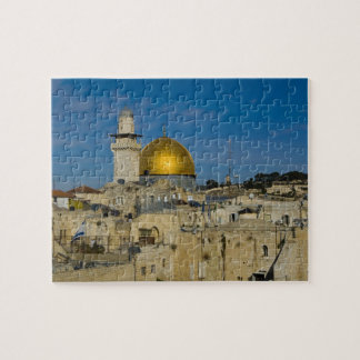 Israel, Jerusalem, Dome of the Rock Jigsaw Puzzle