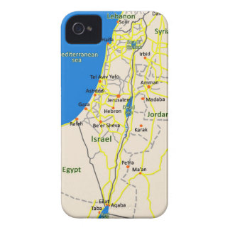 Israel Map Iphone case
