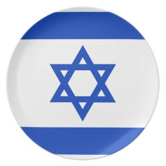 Israel National World Flag Plate