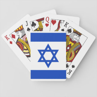 Israel National World Flag Playing Cards