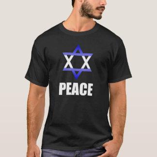 Israel Peace - Flag Colors Star of David T-Shirt