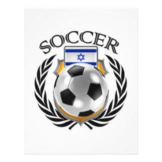 Israel Soccer 2016 Fan Gear 21.5 Cm X 28 Cm Flyer