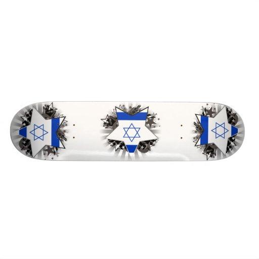 Israel Star Custom Skate Board
