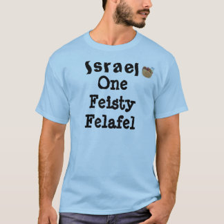 Israel the feisty felafel T-Shirt