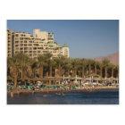 Israel, The Negev, Eilat, Red Sea beachfront 2 Postcard