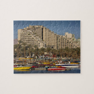 Israel, The Negev, Eilat, Red Sea beachfront 3 Jigsaw Puzzle