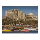 Israel, The Negev, Eilat, Red Sea beachfront 3 Postcard