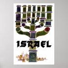 Israel travel poster