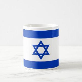 Israel World Flag Basic White Mug