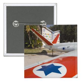 Israeli Air Force Museum 15 Cm Square Badge