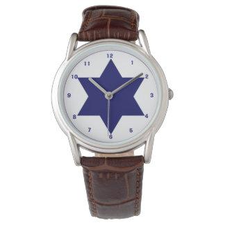 Israeli Air Force Roundel  Wrist Watch