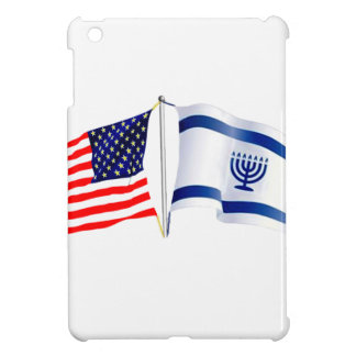 Israeli American flag collection Cover For The iPad Mini