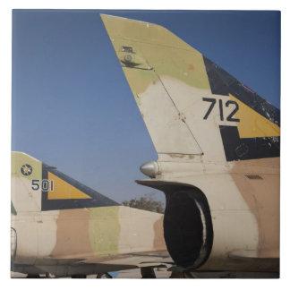 Israeli-built Kfir fighter 2 Large Square Tile
