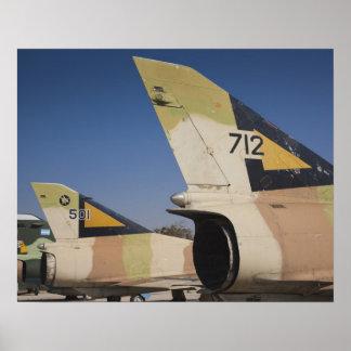 Israeli-built Kfir fighter 2 Poster