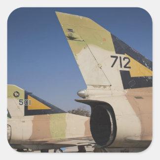 Israeli-built Kfir fighter 2 Square Sticker