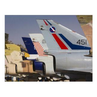 Israeli-built Kfir fighter Postcard