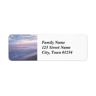 Israeli Coast Return Address Label