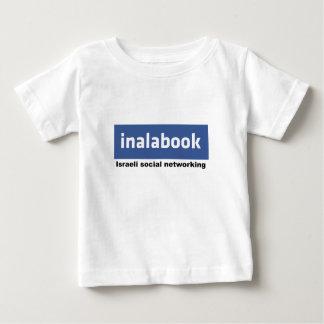 israeli facebook - inalabook tee shirt