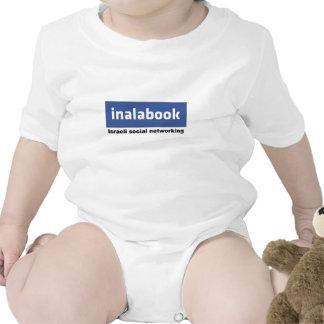 israeli facebook - inalabook tshirt