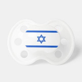 Israeli Flag Baby Pacifier