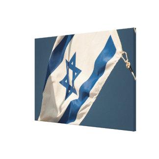 Israeli Flag Canvas Print