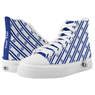 Israeli Flag High Tops