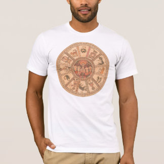 Israeli Hebrew Zodiac Wheel T-Shirt