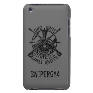 isrrale sniper case w/ snipergy4 logo iPod touch Case-Mate case