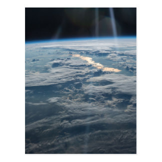 ISS-47 Lake Balkhash, eastern Kazakhstan Postcard