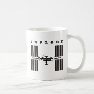ISS / Explore Coffee Mug