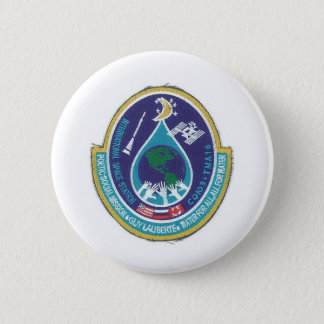 ISS INTERNATIONAL SPACE STATION 6 CM ROUND BADGE
