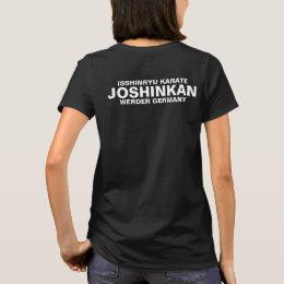 Isshinryu karate, Joshinkan, Germany, FM, black T-Shirt