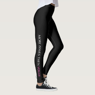 """ISSUES"" LEGGINGS"