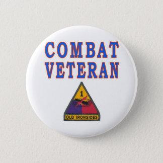 Ist ARMORED DIVISION 6 Cm Round Badge