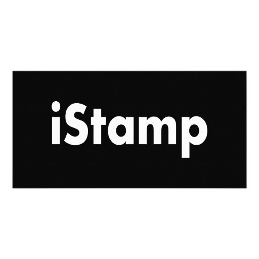 iStamp Photo Greeting Card