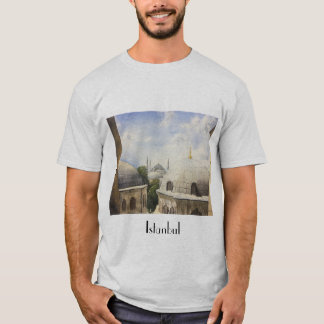 Istanbul: Blue mosque from a window of Hagia Sophi T-Shirt