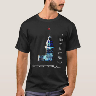 Istanbul City Maiden's Tower T-Shirt