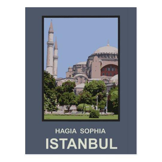 Istanbul Hagia Sophia Postcard