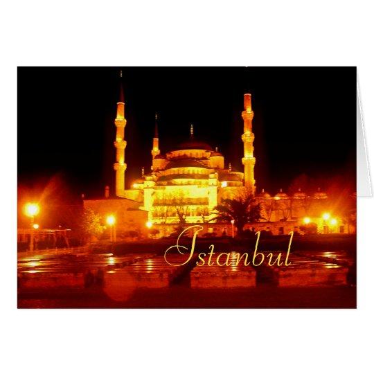 Istanbul Nights Card