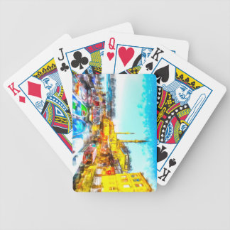Istanbul Turkey Art Bicycle Playing Cards