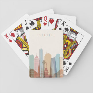 Istanbul, Turkey | City Skyline Playing Cards