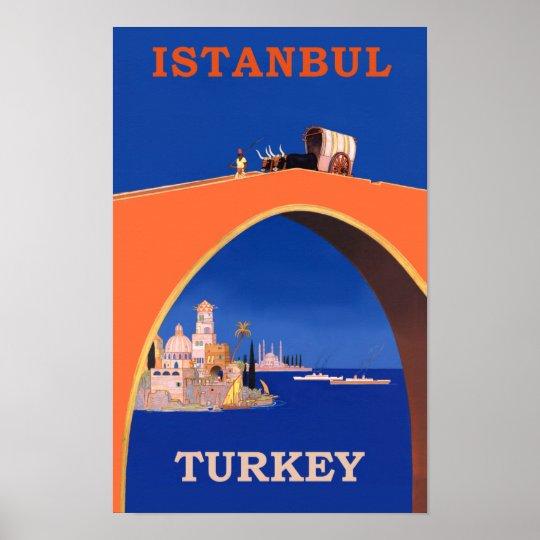 Istanbul, Turkey Poster | Zazzle.com.au