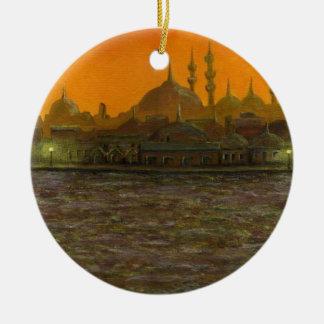 Istanbul Türkiye / Turkey Ceramic Ornament