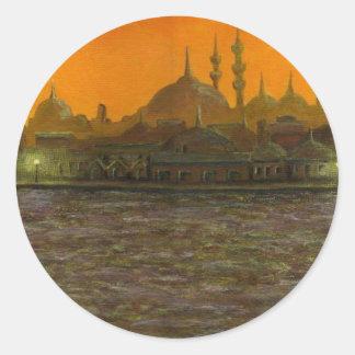 Istanbul Türkiye / Turkey Classic Round Sticker