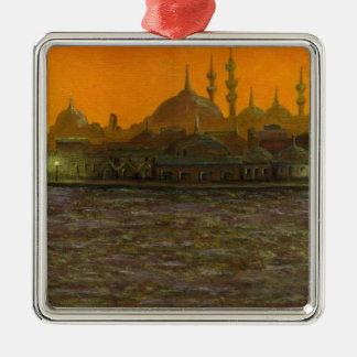 Istanbul Türkiye / Turkey Metal Ornament