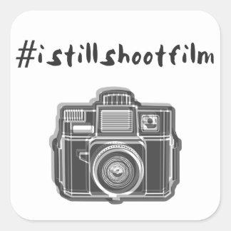 #istillshootfilm + camera hashtag sticker