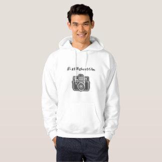 #istillshootfilm + camera hoodie